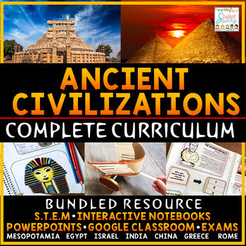 Ancient Civilizations Curriculum Ancient History Curriculum | Distance Learning