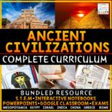 Ancient Civilizations Curriculum Ancient History Curriculum | DIGITAL & PRINT