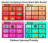 Ancient Civilizations Digital Choice Board *Mini* BUNDLE