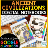 Ancient Civilizations Digital Interactive Notebooks | Dist