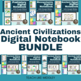 Ancient Civilizations Digital Notebook Bundle