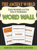Ancient Civilizations: Early Man and Mesopotamia World Wall & Vocabulary Builder