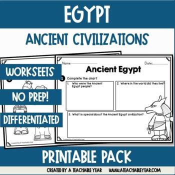 Ancient Civilizations- Egypt