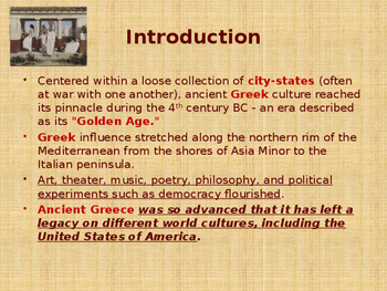 Ancient Civilizations - Everyday Life in Ancient Greece