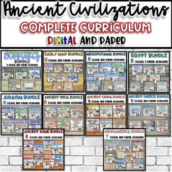 Ancient Civilizations FULL Year Curriculum