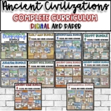 Ancient Civilizations COMPLETE Curriculum Bundle {Digital AND Paper}