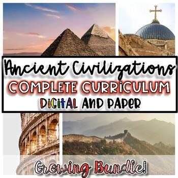 Ancient Civilizations FULL Year Curriculum