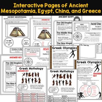 Ancient Civilizations Free Resources