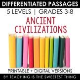 Ancient Civilizations: Differentiated Passages Bundle