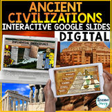 Ancient Civilizations Google Slides | Distance Learning Go