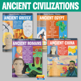 Ancient Civilizations - Greece, Rome and Egypt