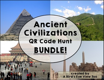 Ancient Egypt and Ancient China Research BUNDLE