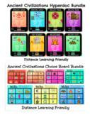 Ancient Civilizations Hyperdoc and Choice Board Bundle