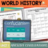 Ancient Civilizations Interactive Notebook Complete Unit Bundle