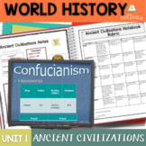 Ancient Civilizations Interactive Notebook Complete Unit Bundle