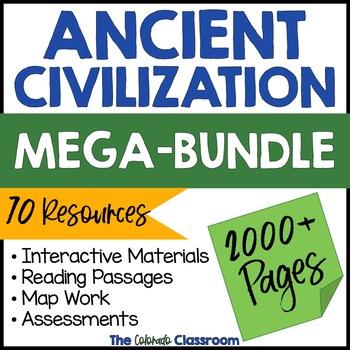 Ancient Civilizations Interactive Notebook Bundle