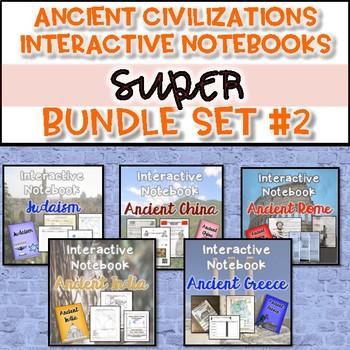 Ancient Civilizations Interactive Notebook Bundle {Set #2}