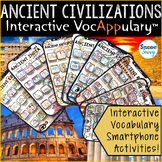Ancient Civilizations Vocabulary | Interactive VocAPPulary