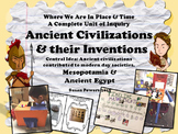 Ancient Civilizations Inventors Extraordinaire A Complete IB PYP Unit