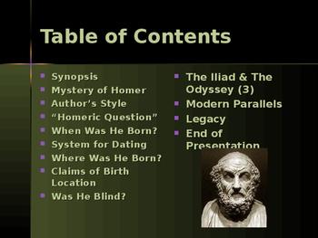 Ancient Civilizations - Key Figures - Homer