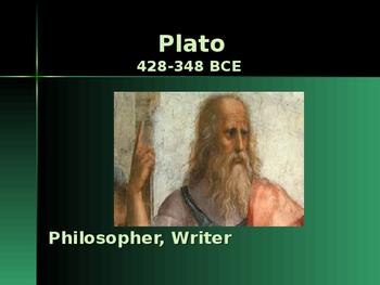 Ancient Civilizations - Key Figures - Plato