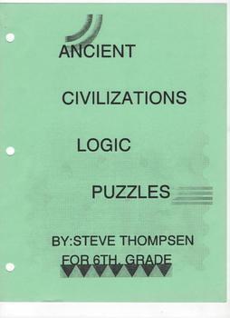 Ancient Civilizations Logic Puzzles