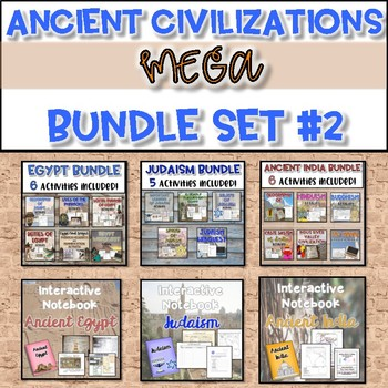 Ancient Civilizations MEGA Bundle #2