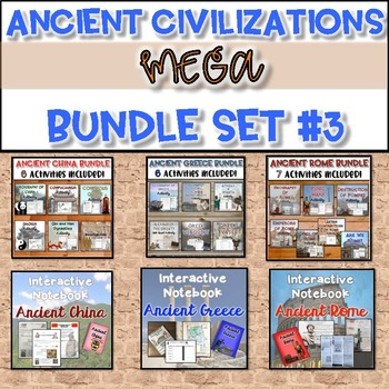 Ancient Civilizations MEGA Bundle #3