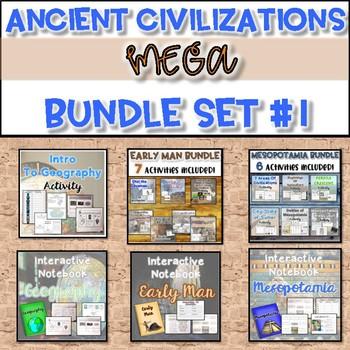 Ancient Civilizations MEGA Bundle {Set #1}