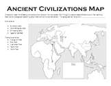 Ancient Civilizations Map