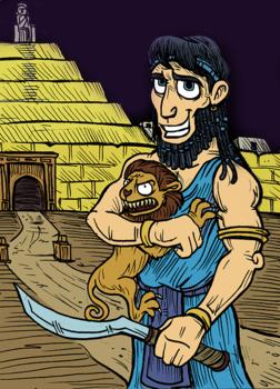 Ancient Civilizations:  Mesopotamia (humorous flyer-style worksheet)