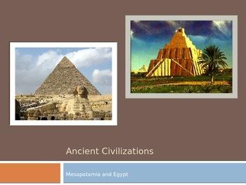 Ancient Civilizations: Mesopotamia and Egypt