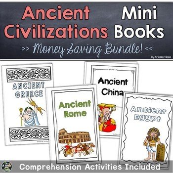 Ancient Civilizations Mini Books (Bundle)