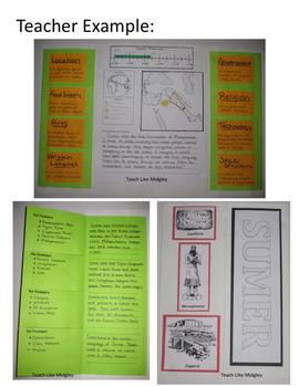 Ancient Civilizations Pamphlet Project