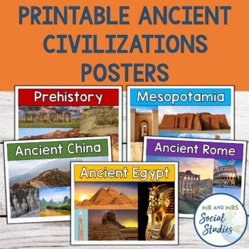 Ancient Civilizations Posters