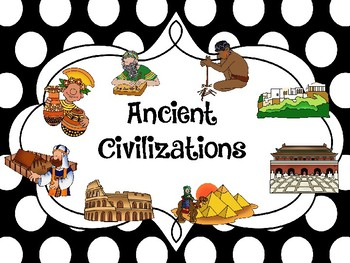 Ancient Civilizations Posters Version 2