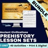 Ancient Civilizations: Prehistory Lesson Set Bundle