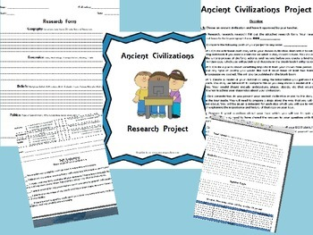 Ancient Civilizations Project