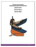 Ancient Civilizations Projects: Egypt, Greece, Rome Grades 5,6,7,8