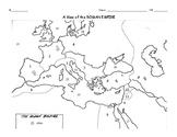 Ancient Civilizations: Roman Empire Map Activity
