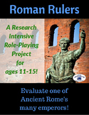 Ancient Rome Emperors Role-Playing Research Project