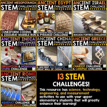 Ancient Civilizations STEM Challenges