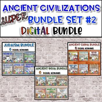 Ancient Civilizations SUPER Bundle Set #2 {Digital}