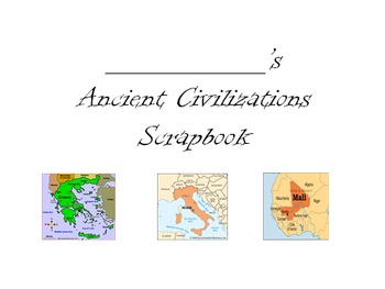 Ancient Civilizations Scrapbook