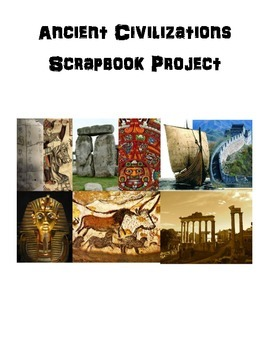 Ancient Civilizations Scrapbook Project