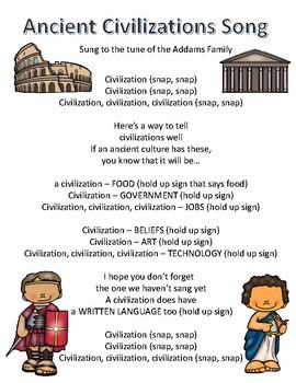 Ancient Civilizations Song