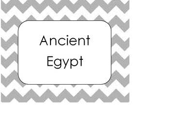 Ancient Civilizations Sort
