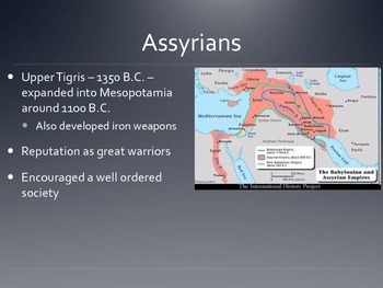 Ancient Civilizations - The Fertile Crescent, Egypt - the Middle East POWERPOINT