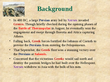 Ancient Civilizations - The Greco-Persian Wars - Battle of Plataea