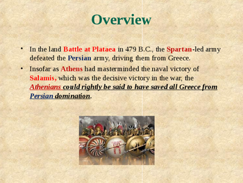 Ancient Civilizations - The Greco-Persian Wars - Battle of Plataea
